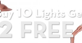 Promo::Buy 10 Lights get 2 FREE