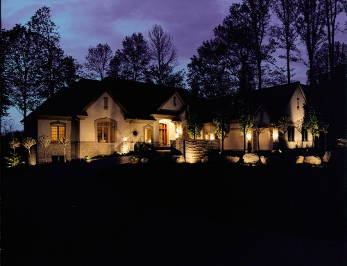 Residential Landscape Lighting 2 – Centerville, OH
