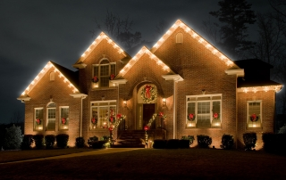 Cincinnati ohio residential commercial outdoor lighting holiday lighting at a cincinnati ohio home designed and installed by the professionals at mozeypictures Image collections