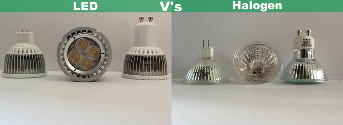 Halogen vs LED
