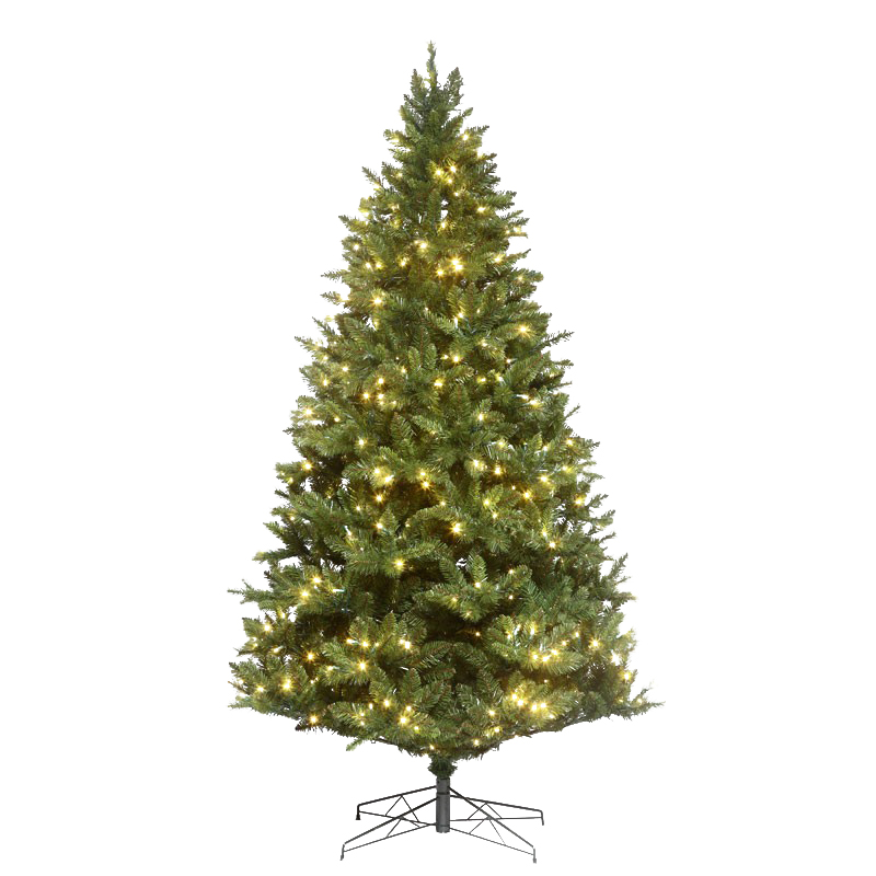 The Mixed Noble Tree creates a captivating Holiday display. The LEDs are rated for 3,000 hours of use and are individually replaceable.