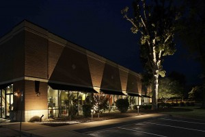 Commercial lighting designed and installed by Outdoor Lighting Perspectives in Cincinnati, OH.